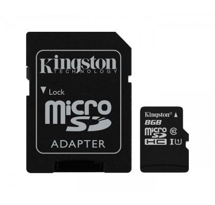 Карта памяти Kingston microSD 4Gb class 4 (в тех. упаковке)