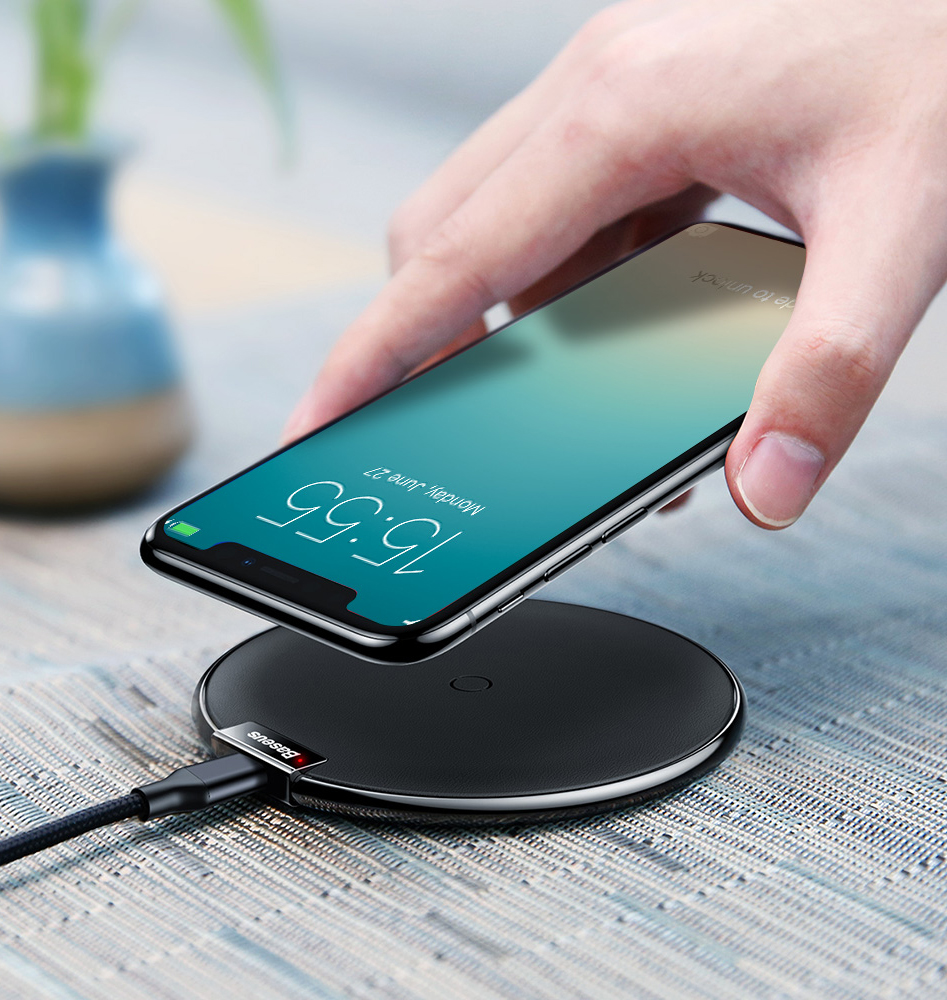 Baseus_iX_Desktop_Wireless_Charger_Leath